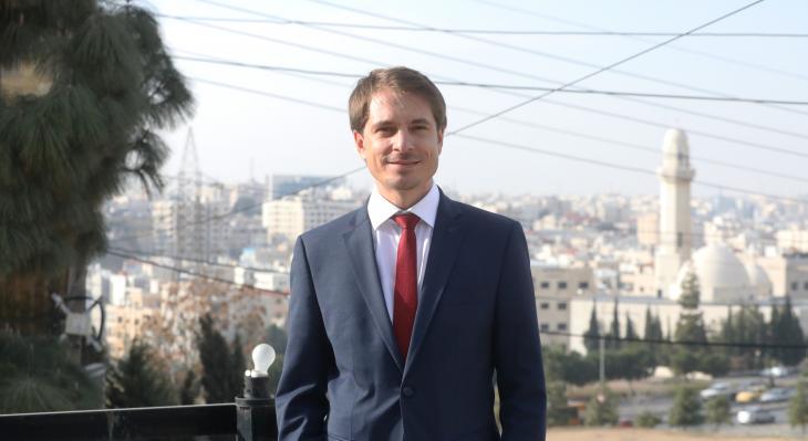 Der Politikwissenschaftler Edmund Ratka leitet seit November 2020 das Auslandsbüro Jordanien der Konrad-Adenauer-Stiftung (KAS) in Amman. (Foto: KAS)