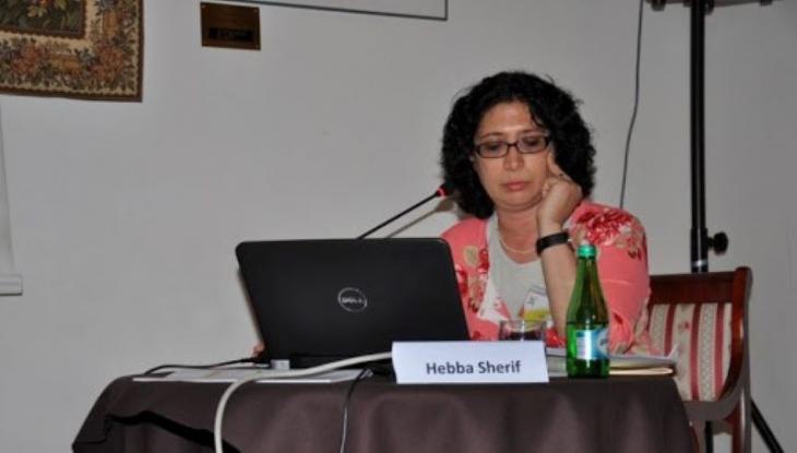 """Die Wissenschaftlerin und Übersetzerin Hebba Sherif, früher Leiterin der Schweizer Kulturstiftung """"Pro Helvetia"""" in Kairo; Foto: visegradsummerschool"""