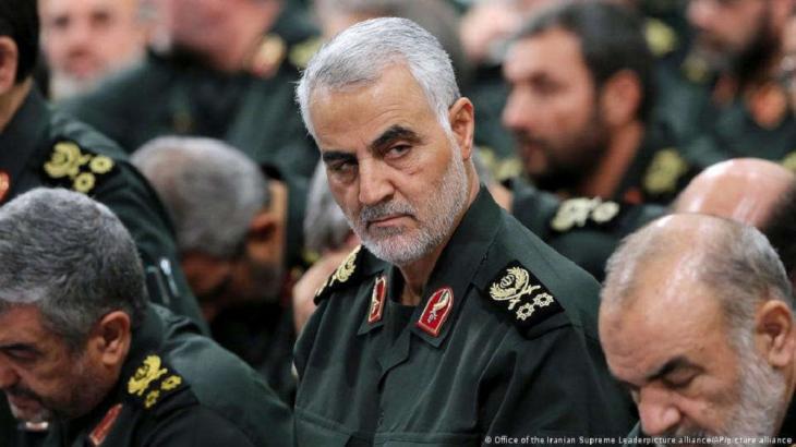 Kassem Soleimani, der ehemalige Kommandeur der Al-Kuds-Brigade. (Foto: © Office of the Iranian Supreme Leaderpicture alliance/AP/picture alliance) der IRGC. (Foto;