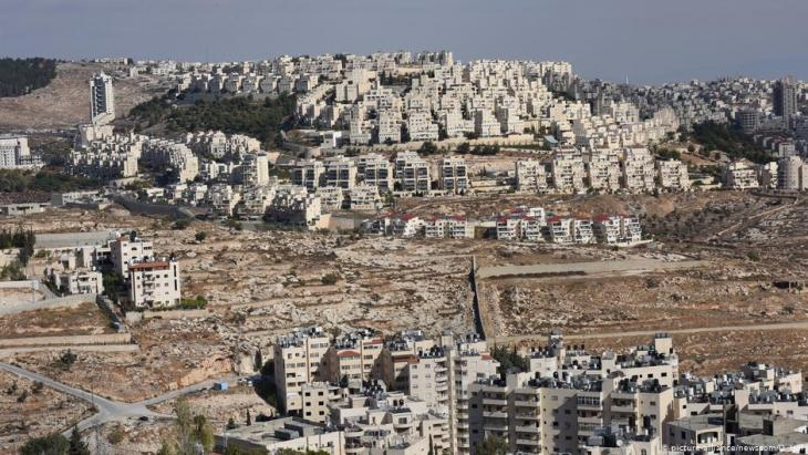 Westjordanland israelische Siedlung Har Homa; Foto: picture-alliance/newsroom/D. Hilf