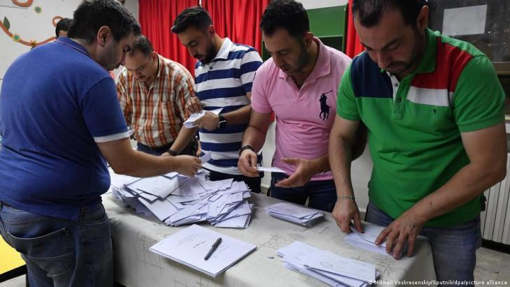 Syrien Präsidentschaftswahlen Bashar al Assad; Foto: Mikhail Voskresenskiy/sputnik/dpa/picture-alliance