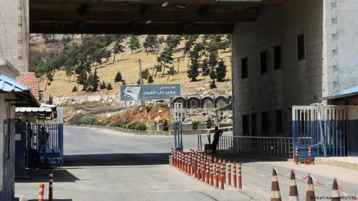 Syrien Türkei Grenzübergang Bab el Hawa; Foto: Khalil Ashawi/Reuters