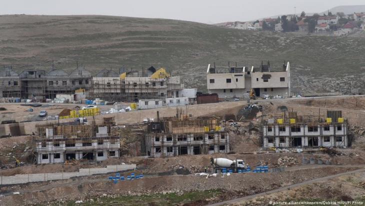Die israelische Siedlung Ma'ale Adumim in der West Bank; Foto: picture-alliance/newscom/Debbie Hill/UPI Photo