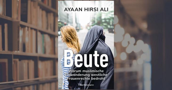 """Buchcover von Ayaan Hirsi Alis, """"Beute""""; Foto: Bertelsmann Verlag"""