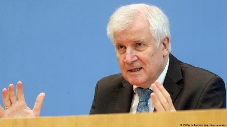 Bundesinnenminister Horst Seehofer. (Foto:  Wolfgang Kumm/dpa/picture-alliance)