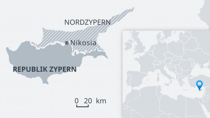 Grafik Zypern; Quelle: DW