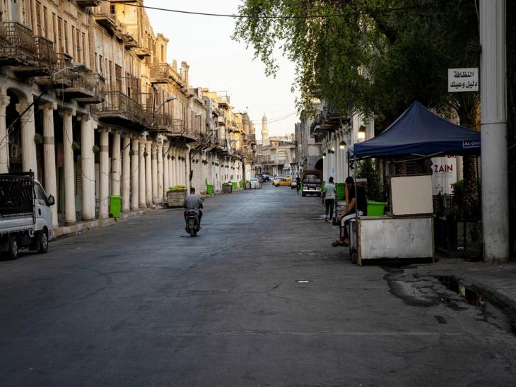 In der Altstadt von Bagdad; Foto: Andrea Backhaus