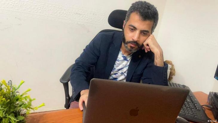"""Mohammed Elyamani, Gründer von """"Qawem""""; Foto: privat"""