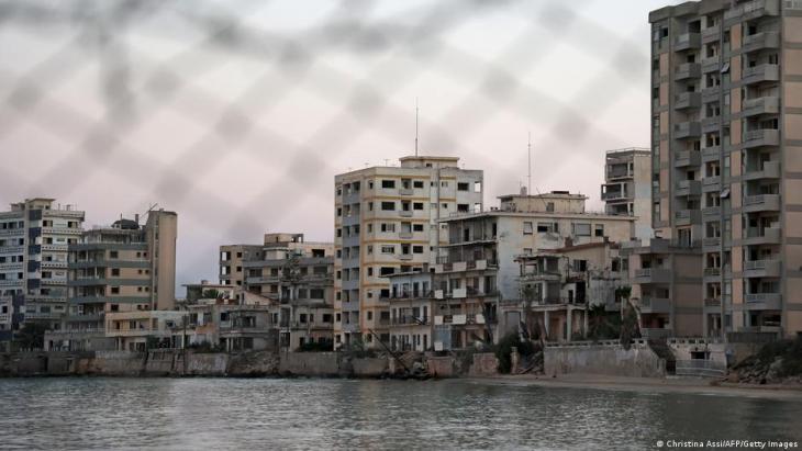 "Verlassene Gebäude im ""Geisterort Varosha""; Foto: Christina Assi/AFP/Getty Images"