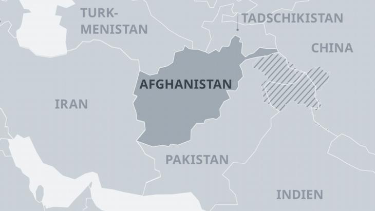 Afghanistan ist ein Staat vieler Völker mit noch mehr Nachbarn. (Foto: DW)