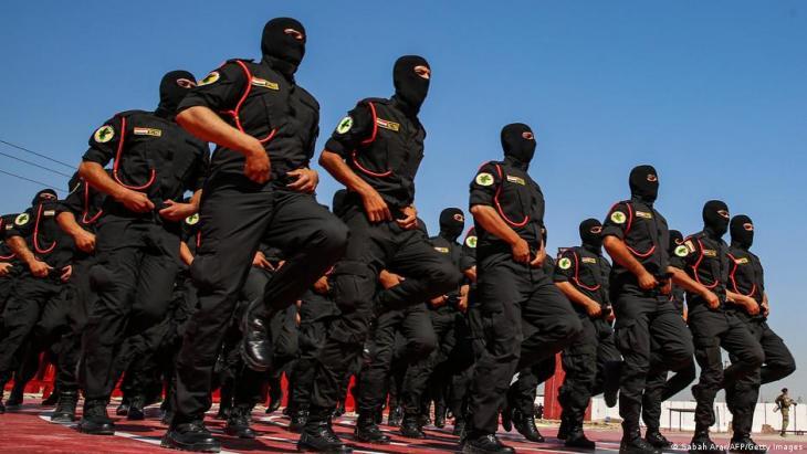 ie viel gelobte Anti-Terrorismus-Einheit des Irak wurde vom US-Militär trainiert. (Foto: Sabah Arar/AFP/Getty Images)