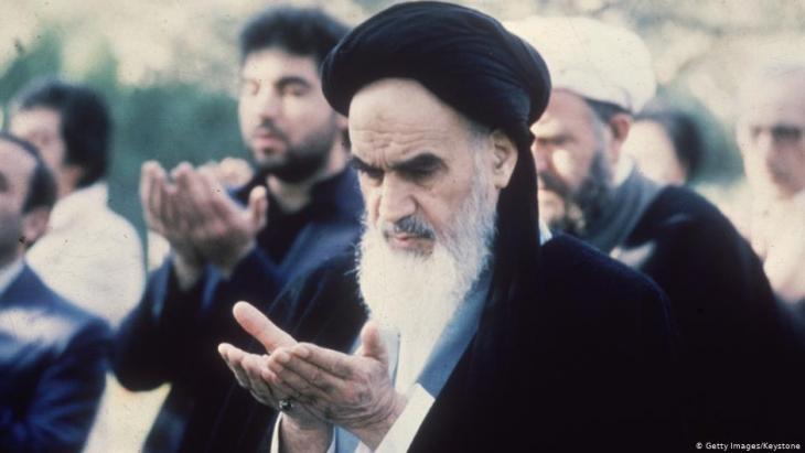 Ayatollah Khomeini; Foto: Getty Images/keystone
