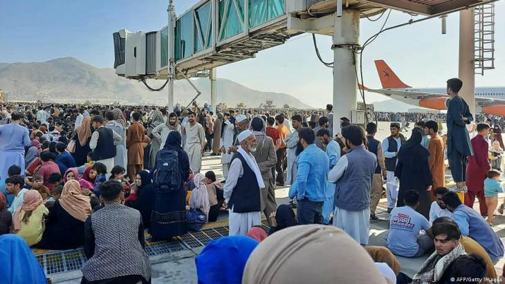 Flughafen Kabul; AFP/Getty Images