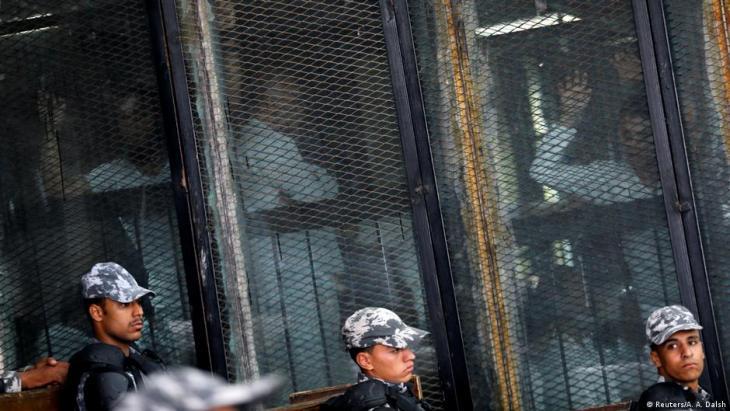 Ägypten; Massenverurteilungen mit 75 Todesurteilen gegen Anhänger der Muslimbruderschaft; Foto: Reuters/A.A.Dalsh