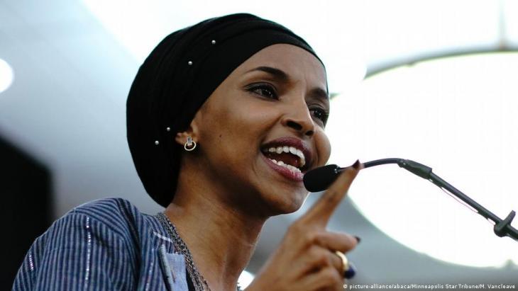 Ilhan Omar, Abgeordnete im US-Repräsentantenhaus für die Demokraten (Foto: picture-alliance/abaca/Minneapolis Star Tribune/M. Van Cleave)