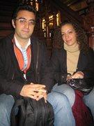 Maziar Bahari mit einer Protagonistin seines Films, Hannah Allam; Foto: Petra Tabeling