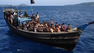 Rohingya-Flüchtlinge, Andamanen vor der indischen Küste; Foto: Asiapics