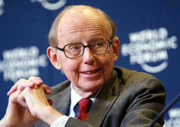 Samuel Huntington auf dem Weltwirtschaftsforum; Foto: World Economic Forum / Peter Lauth / Creative Commons)