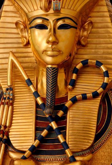 Detail des innersten Goldsarges des Pharaos; Foto: A.-M. v. Sarosdy / Rechte: Semmel Concerts GmbH