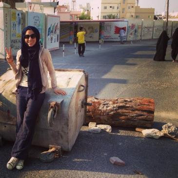 Ala'a Shehabi; Foto: Twitter account Ala'a Shehabi