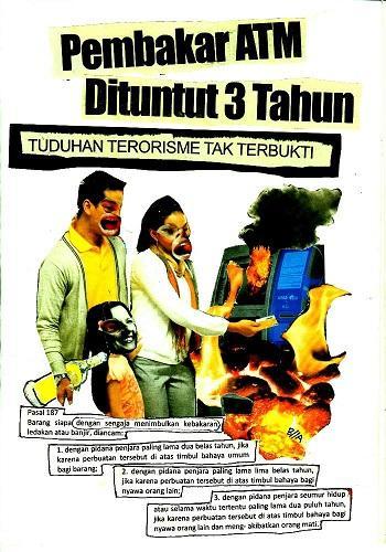 Artwork produced in prison by Billy (source: http://asimetris.noblogs.org/post/2013/02/23/publikasi-mlebu-zine-3-indonesia)