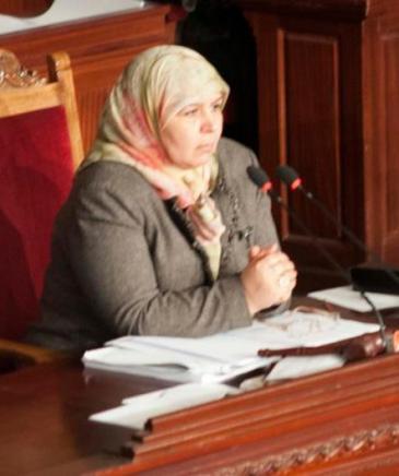 Mehrezia Laabidi; Foto: DW/S. Mersch