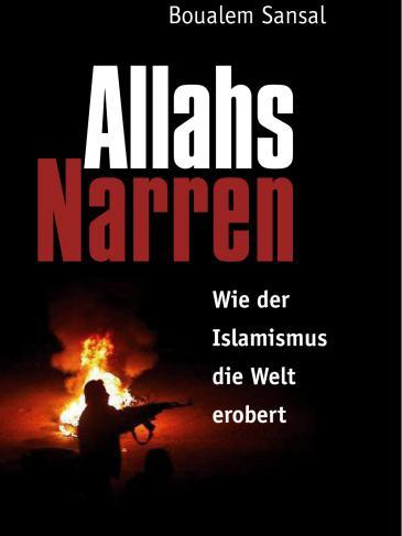 Buchcover Allahs Narren von Boualem Sansal im Merlin-Verlag