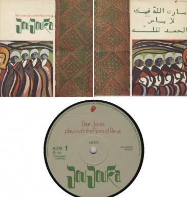 Brian Jones' Joujouka LP-Cover