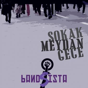 """CD-Cover Bandista """"Sokak Meydan Gece"""""""