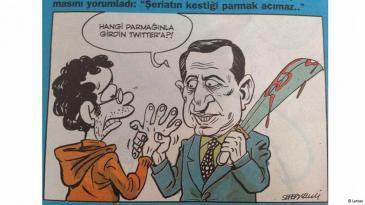 "Karikatur in Comic-Band ""Leman""; Quelle: Leman"