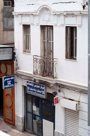 Leerstehende, ungenutzte Synagoge in Tunis; Foto: Sarah Mersch