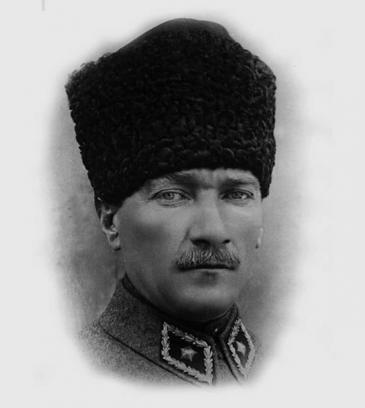 "Porträt Mustafa Kemal ""Atatürk""; Foto: Wikimedia Commons"
