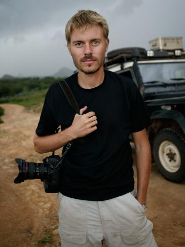 Fotograf Christoph Bangert; Foto: privat