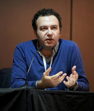 Blogger Karl Sharro; Foto: Elisabeth Lehmann