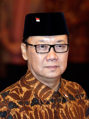 Tjahjo Kumolo, der neue Innenminister Indonesiens; Foto: picture-alliance/epa/M. Irham