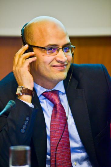 Khalil al-Anani ; Foto: Johns Hopkins School of Advanced International Studies