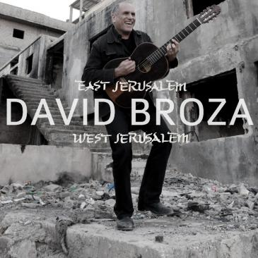 "Cover des Albums ""East Jerusalem/West Jerusalem"" von David Broza"