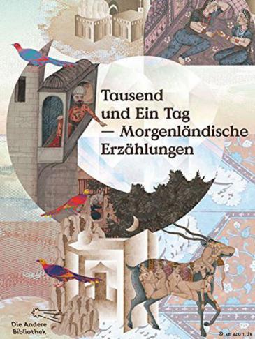 """Buch cover """"Tausend und Ein Tag - Morgenländische Erzählungen"""""""
