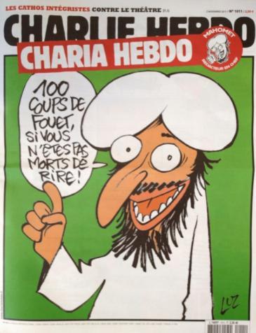 """Cover """"Charia Hebdo"""""""