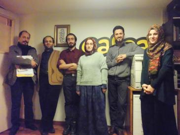 """""""Cafcaf""""-Redaktionsteam in Istanbul; Foto: Senada Sokollu"""