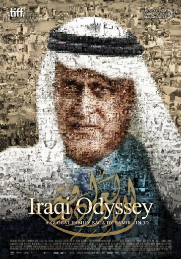 "Filmplakat ""Iraqi Odyssey"" des Regissuers Samir"
