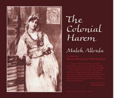 """Buchcover """"Le Colonial Harem"""" von Malek Alloula"""