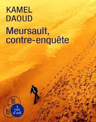 "Buchcover der französischen Ausgabe des Romans ""Meursault - Contre-Enquete""."