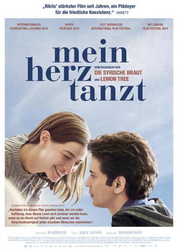 """Kinoplakat """"Mein Herz tanzt"""" von Eran Riklis"""