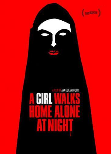 "Kinoplakat ""A Girl Walks Home Alone at Night"""