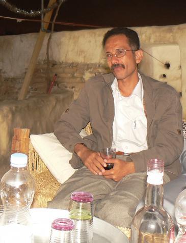 Der jemenitische Schriftsteller Ali al-Muqri; Foto: Günther Orth