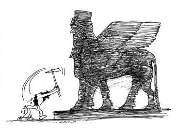 Karikatur Abdul Raheem Yassir; Foto: Abdul Raheem Yassir