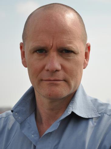 """Andreas Maus, Regisseur des Films """"Der Kuaför aus der Keupstrasse""""; Foto: Karmen Frankl"""
