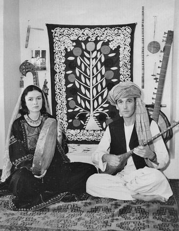 John Baily und Veronica Doubleday 1977 in Herat; Foto: privat