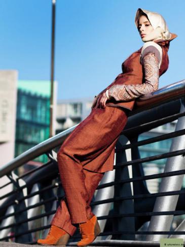Mode für konservative Muslimas; Foto: arturwiens.de